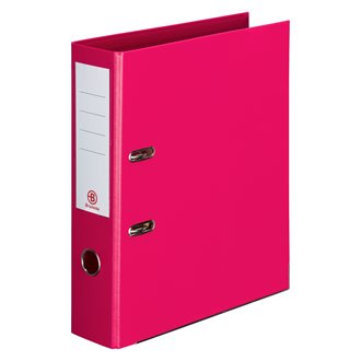Set 7 lever arch files Bruneau back 7,2 cm assorted colours + 3 for free