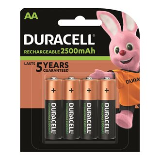 Blister 4 batteries Stay charged AA