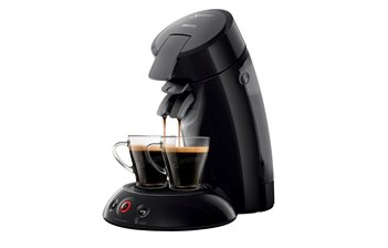 Coffee machine for doses