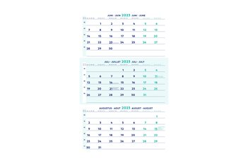 Calendars and placemats