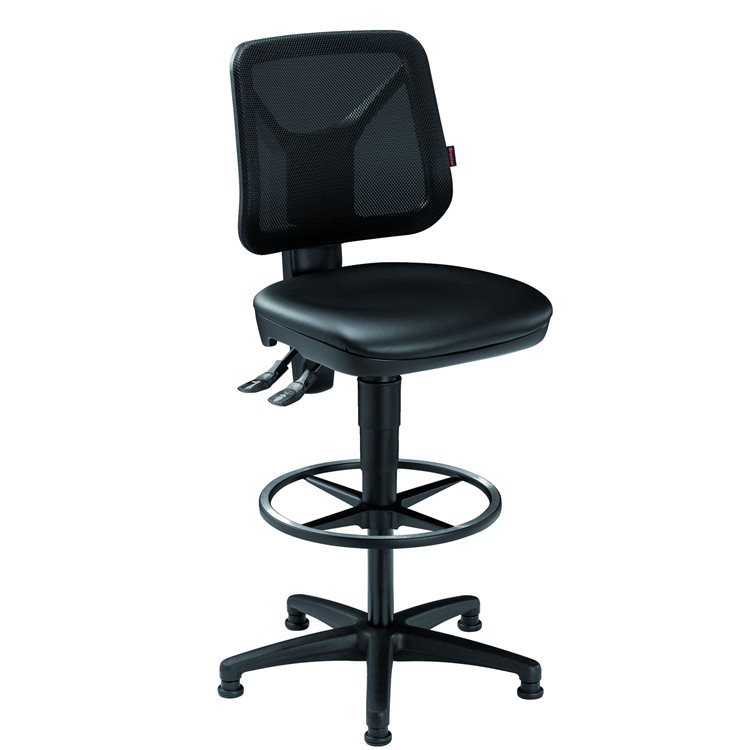Chair BTEC vinyl low back CP