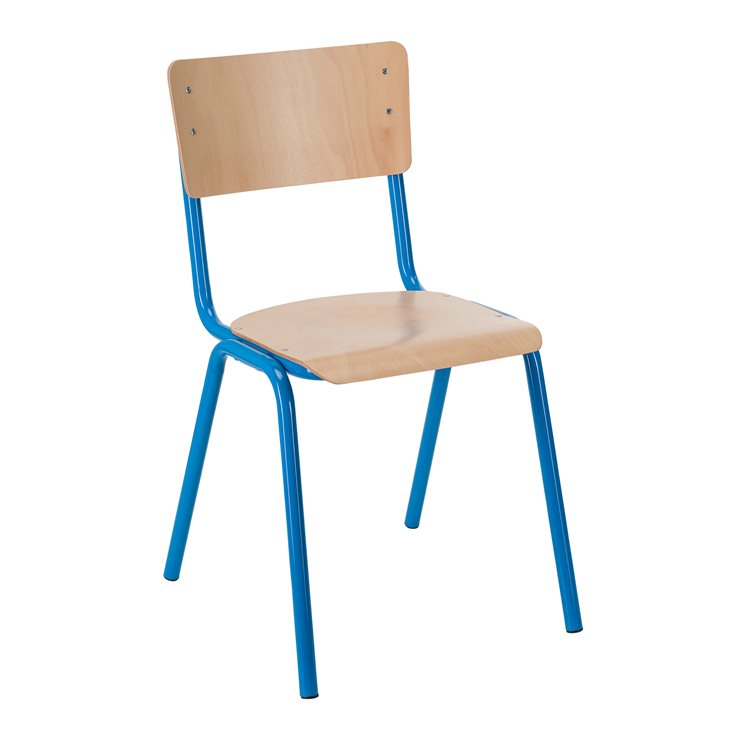 School chair T6 colored