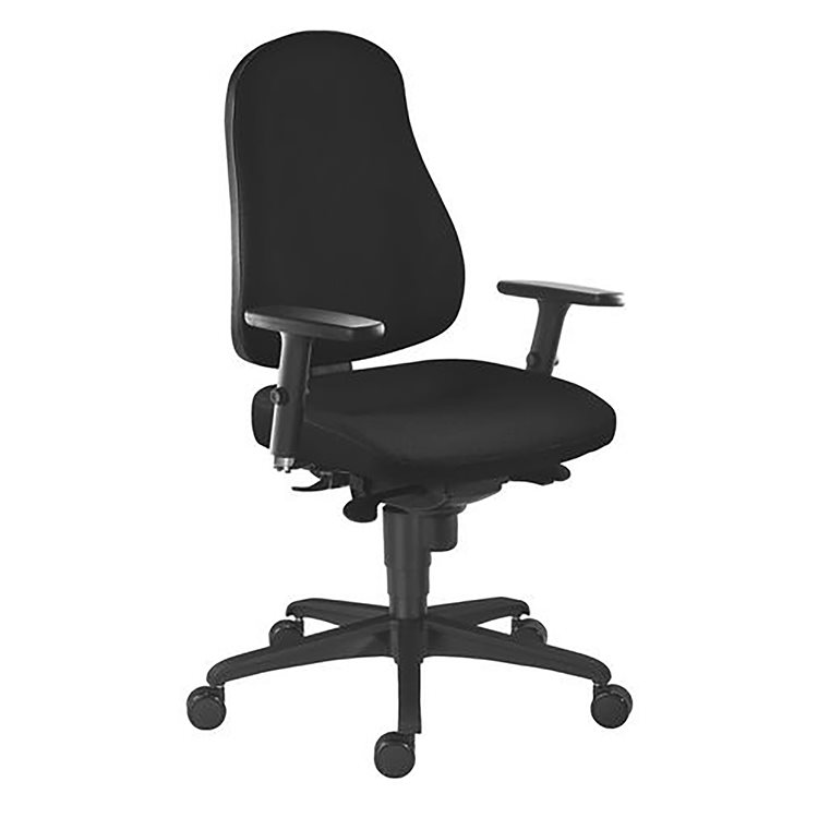 Pack office chair JUNE synchronous + 3D arm rests