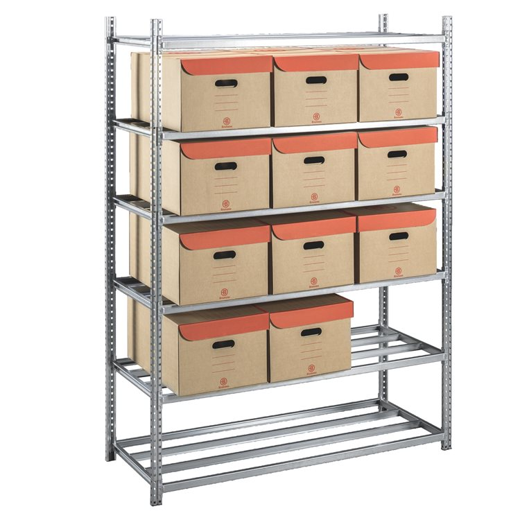 Pack office rack + 20 archive boxes Bruneau