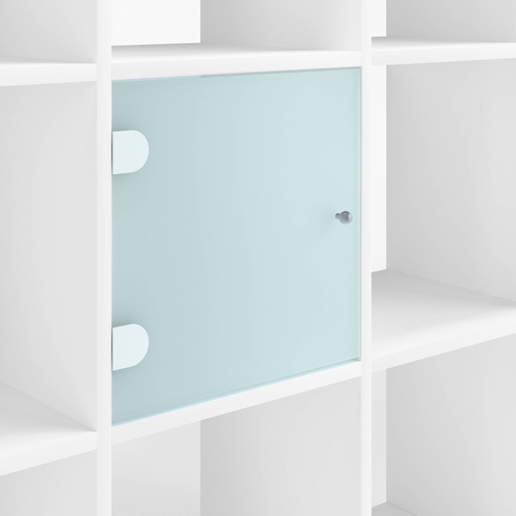 Set of 2 doors in glass Maxicube Color