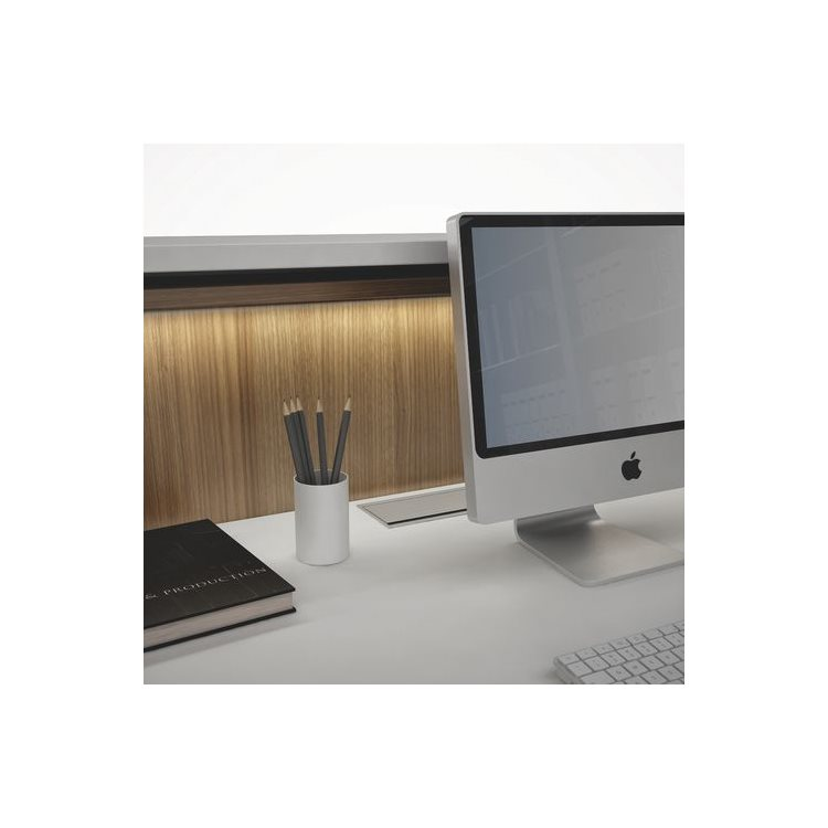 LED lighting for the work surface of the reception desk Jana