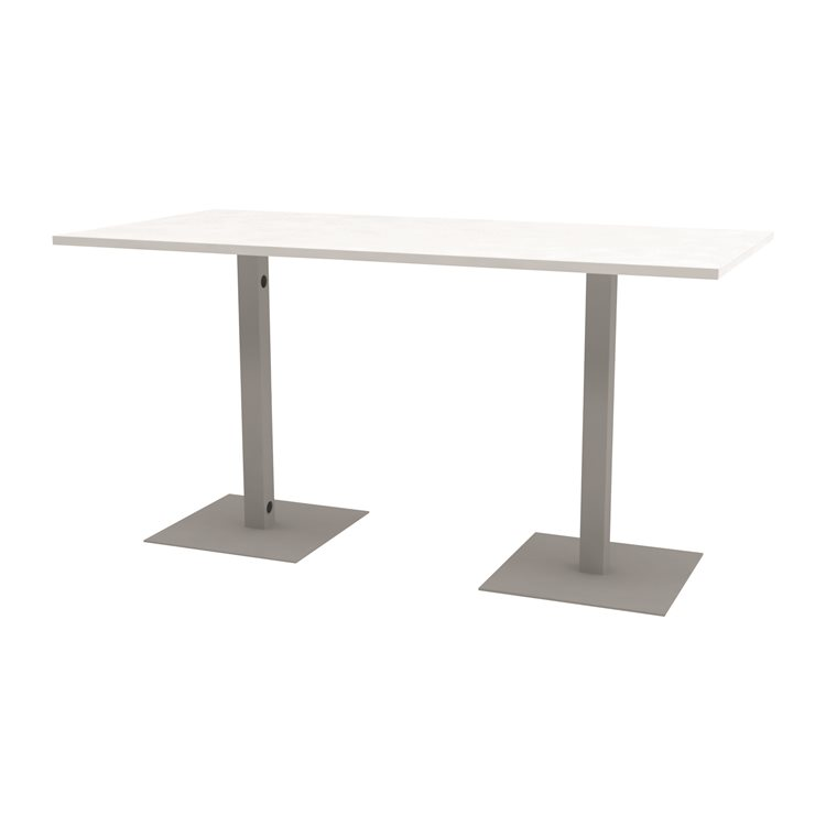 High conference table Meeting 210 x 100 cm white
